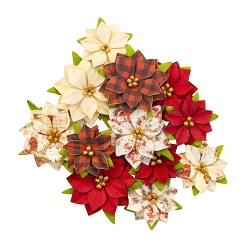 Prima - Christmas In The Country Collection Flowers - Sugarplum