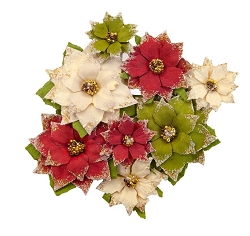 Prima - Christmas In The Country Collection Flowers - Tidings