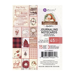 Prima - Christmas In The Country Collection - 3x4 Journaling Cards