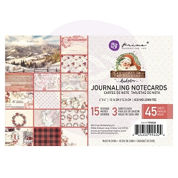 Prima - Christmas In The Country Collection - 4x6 Journaling Cards