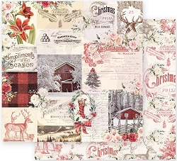 Prima - Christmas In The Country Collection - Compliments of the Season 12