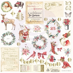 Prima - Christmas In The Country Collection - Ephemera #1