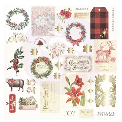 Prima - Christmas In The Country Collection - Ephemera #2