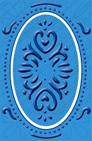 Cuttlebug Embossing Folder Plus - Elegant Ellipse