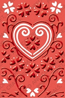 Cuttlebug Embossing Folder Plus - He Loves Me