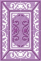 Cuttlebug Embossing Folder Plus - Lace Door