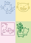 Cuttlebug Embossing Folder - Cat :)