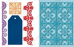 Cuttlebug Embossing Folder & Die Combo - Ornamental Iron