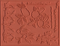 Punch Blossoms by Susan Tierney-Cockburn Designs - Unmounted Rubber Stamp Sheet - Down The Garden Path 2