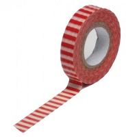 Queen & Co. - Trendy Tape - Stripe Red