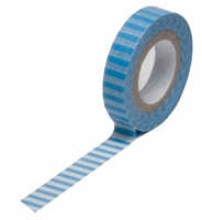 Queen & Co. - Trendy Tape - Stripe Blue