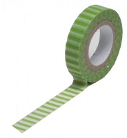 Queen & Co. - Trendy Tape - Stripe Green