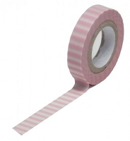Queen & Co. - Trendy Tape - Stripe Pink