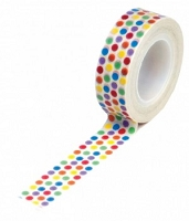 Queen & Co. - Trendy Tape - Rainbow Dots