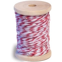 Queen & Co. - Twine - Pink/Red/White