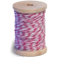 Queen & Co. - Twine - Light Pink/Dark Pink