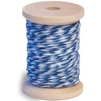 Queen & Co. - Twine - Light Blue/Dark Blue