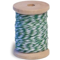 Queen & Co. - Twine - Dark Green/Light Green
