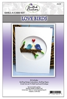 Quilled Creations Quill-A-Card Kit Love Birds