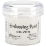 Ranger Embossing Pearls - Silver Pearl (1 oz)