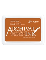 Ranger Archival Ink Pad - Orange Blossom by Wendy Vecchi