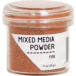 Ranger - Mixed Media Embossing Powder - Fire