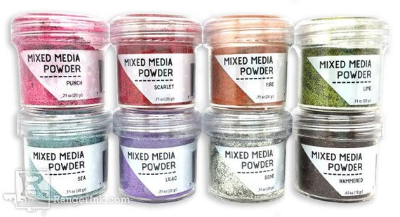 Mixed Media Embossing Powder