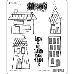 Dylusions - Cling Rubber Stamps - Home
