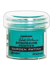 Ranger - Wendy Vecchi Embossing Powder - Garden Patina (1 oz)