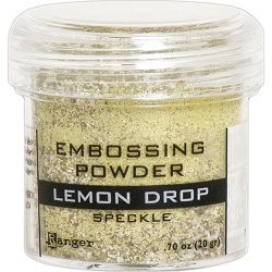 Ranger - Speckle Embossing Powder - Lemon Drop
