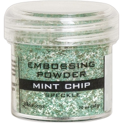 Ranger - Speckle Embossing Powder - Mint Chip