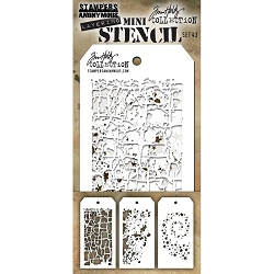 Stamper's Anonymous / Tim Holtz - Mini Layering Stencils - Set #43