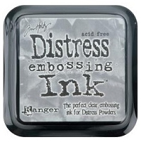 Tim Holtz - Distress Clear Embossing Ink Pad