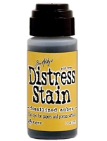 Ranger - Tim Holtz Distress Stains - Fossilized Amber :)