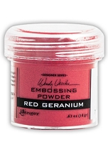 Ranger - Wendy Vecchi Embossing Powder - Red Geranium (1 oz)