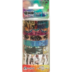 Ranger - Dyan Reaveley's Dylusions Creative Dyary Washi Tape Set #2