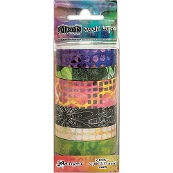 Ranger - Dyan Reaveley's Dylusions Creative Dyary Washi Tape Set #3