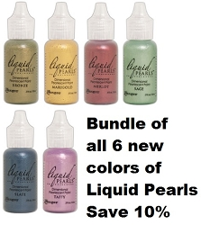 Ranger - Liquid Pearls Bundle - all 6 newest colors (SPECIAL 10% off regular price)