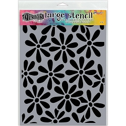 Ranger - Dyan Reaveley's Dylusions Stencil - Spring Bloom (Large 9