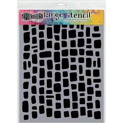 Ranger - Dyan Reaveley's Dylusions Stencil - Sugar Lumps (Large 9