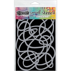 Ranger - Dyan Reaveley's Dylusions Stencil - Squiggle (Small 5