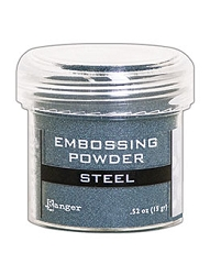Ranger - Embossing Powder - Steel Metallic