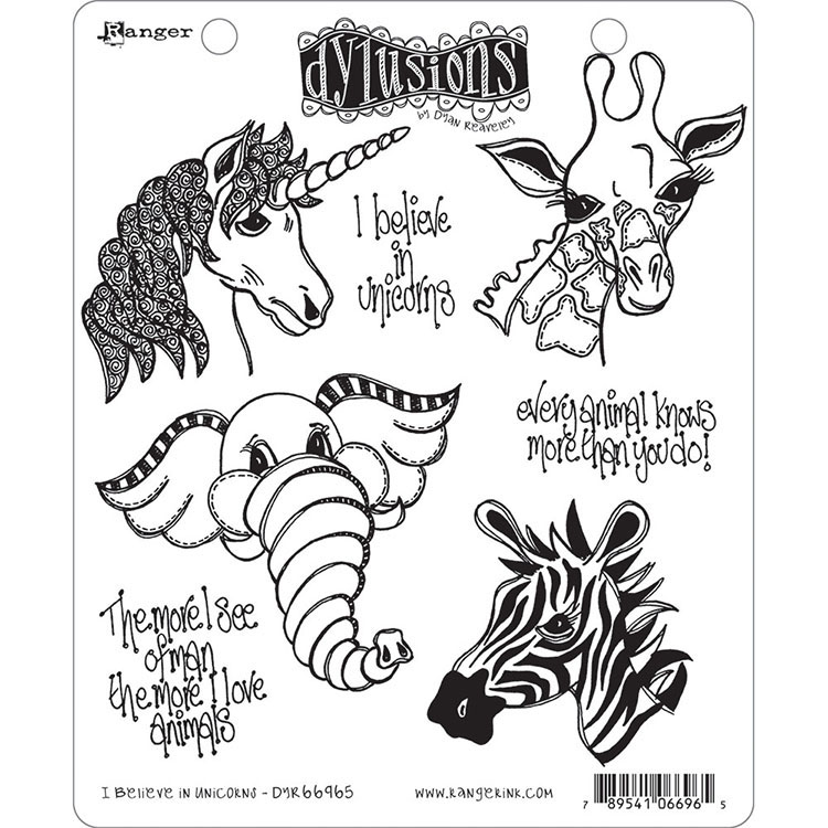 Dylusions - 6 New Stamp Sets + 2 chat stickers