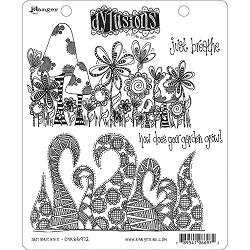 Dylusions - Cling Rubber Stamps - Just Breathe
