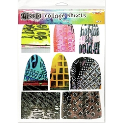 Ranger - Dylusions - Collage Sheets Asst #2 (8.5