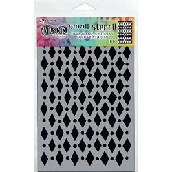 Ranger - Dylusions Stencil - Court Jester Small (5
