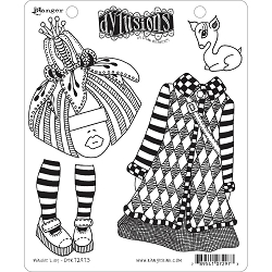 Dylusions - Cling Rubber Stamps - Maisie Lilly