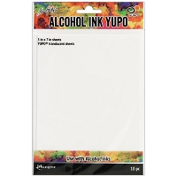 Ranger - Tim Holtz Alcohol Ink Translucent Yupo Paper (5