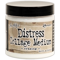 Ranger - Tim Holtz Distress Collage Medium - Crazing