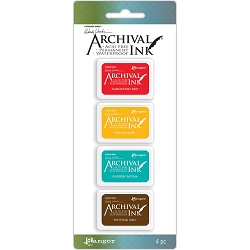 Ranger - Wendy Vecchi Mini Archival Ink Pads - Kit #1